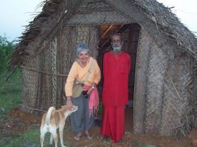 Anna Etter in Indien