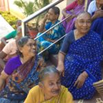 Enjoying life in Old Age Home