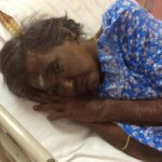Untersuchung im Krankenhaus von Gandhimathi.